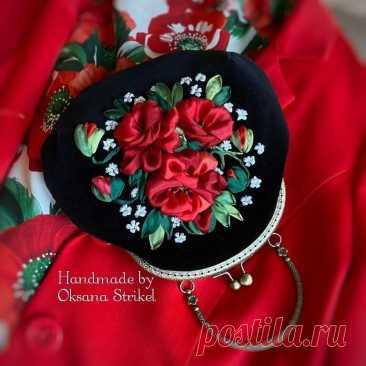 Чудесные вышивки лентами. Любуемся (много фото) | Хроники Сельских Бюджетников | Яндекс Дзен