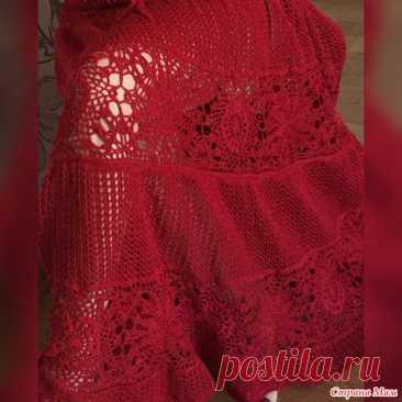 El vestido por el gancho - la Labor de punto - el País de las Mamás