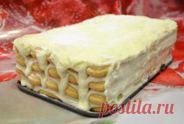 Нежный и очень вкусный торт без выпечки / готовим легко и быстро   Вкусное Хобби   Яндекс Дзен