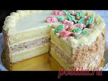 """Торт """"ВЕТКА"""", коллекция советских рецептов . Торты по ГОСТу /""""Branch"""" cake"""