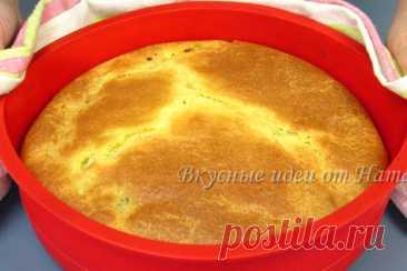 Заливной пирог с капустой – рецепт с фото