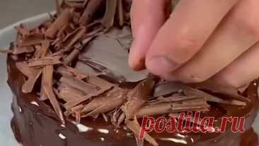 Шоколадный торт из овсянки без духовки