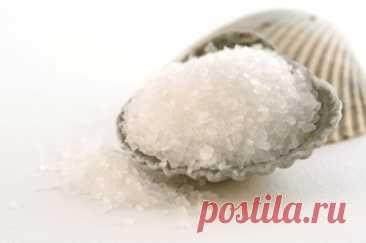Солевой пилинг для кожи