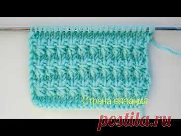 Узоры спицами. Дорожки с перетяжками. Knitting patterns. Tracks with constrictions.