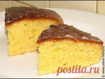 Бисквит без миксера.Бисквит самый простой рецепт. Пирог к чаю и основа для торта.