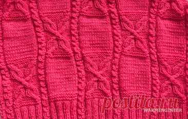Готовь сани летом или вяжи шарф в августе. Начала вязать теплый шарф, делюсь схемой узора | WarmEngineer | Яндекс Дзен
