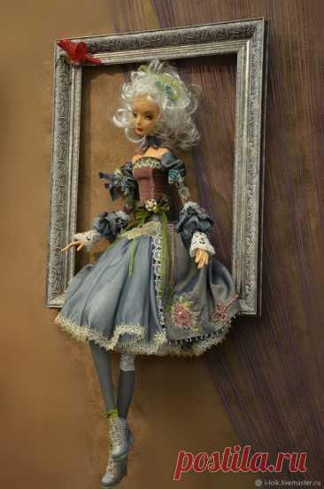 Интерьерная кукла - картина – заказать на Ярмарке Мастеров – 9BYOFRU   Куклы и пупсы, Одесса