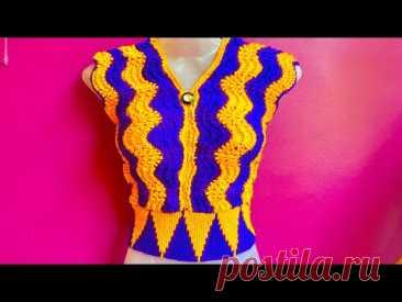 सबसे आसान बलाउस बनाए सिर्फ़ 250ग्राम ऊन मे ।। new design woollen blouse (part-1)
