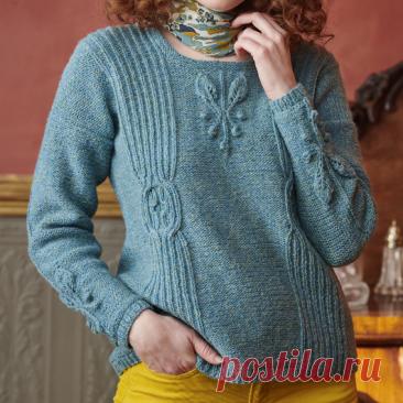 Вязаный пуловер Boscobel | ДОМОСЕДКА