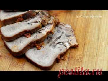 Едим вместо колбасы | Суперсочный говяжий язык | Секреты приготовления вкусного говяжьего языка |