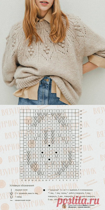 4 осенние схемы по вашим заявкам: два джемпера, платье и шапка | Вязунчик — вяжем вместе | Пульс Mail.ru