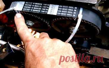 Автомеханик со стажем рассказал, как заменить ремень ГРМ своими руками за 15 минут на любом авто без установки меток | Помощник автомобилиста | Яндекс Дзен