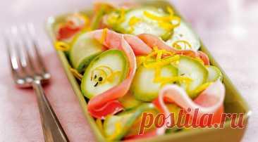 Как приготовить салат из кабачков