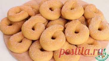 Медовое печенье на сметане Кулинарный рецепт