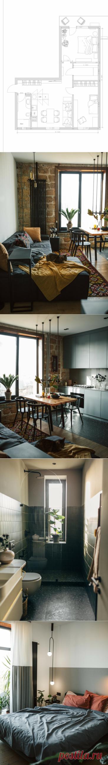 Квартира, которую дизайнер оформила сама для себя: евротрёшка 66 м² с полной перепланировкой в старом фонде | Филдс | Яндекс Дзен