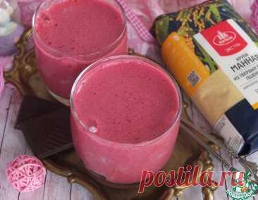 Десерт из манки и ягод – кулинарный рецепт