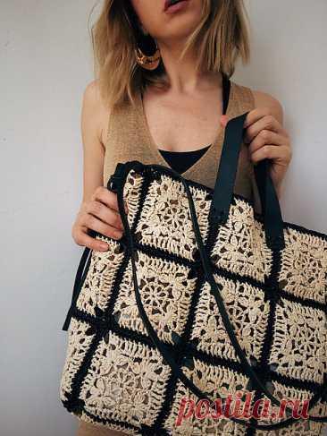 Ravelry: Raffia Meditation Bag pattern by Anastasia Asanova