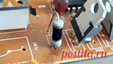 Как узнать номинал сгоревшего резистора? Лайфхак от опытного радиолюбителя При ремонте неисправного электронного устройства вы обнаружили на плате сгоревший резистор, как определить его номинал? Вся маркировка на нем выгорела, измерить сопротивление мультиметром не представляется возможным. Если повезет, то можно найти в интернете принципиальную схему, а если ее нигде