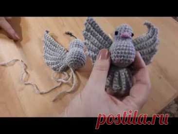 МК Голубка 2 часть. Крылья, хвост. Сборка.