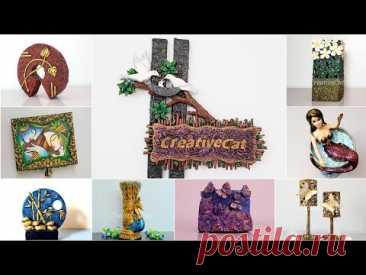 50 beautiful home decor ideas/Art and craft/wall decor/CreativeCat