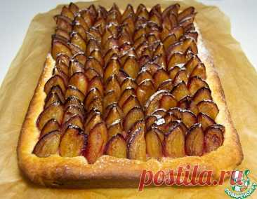 Аугсбургский сливовый пирог Пфлауменкухен – кулинарный рецепт
