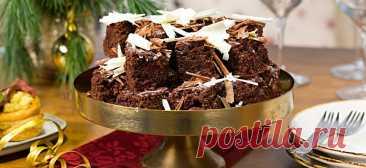 Шоколадно-медовый пирог с вишней - Образованная Сова