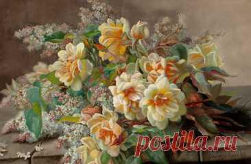 Картина Букет с сиренью pf-150 купить цена | Make.ua