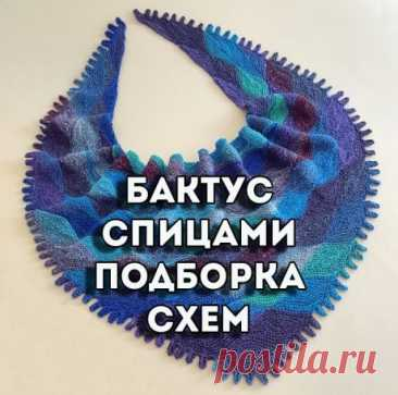 Бактус спицами, 35 схем и описаний для вязания!, Вязание для женщин