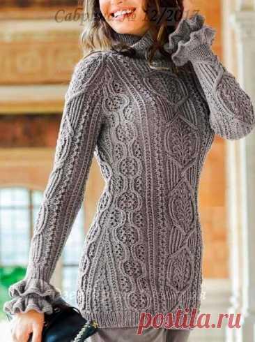 Стильные и простые, теплые и модные - 11 моделей спицами для вас. Пальто, жакеты и пуловеры на осенний сезон. Одеваемся красиво. | Ирина СНежная & Вязание | Яндекс Дзен