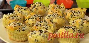 Обалденные картофельные маффины