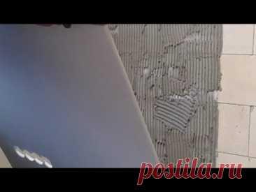 Гипсокартон на клей без пустот