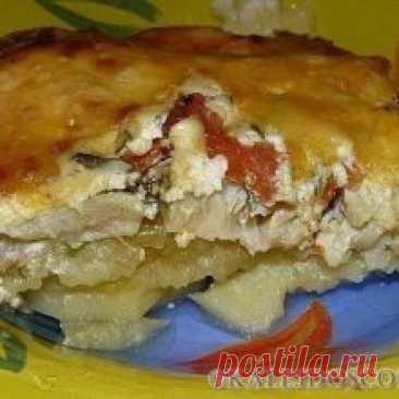 Запекаем РЫБУ – 6 рецептов! 1. Обалденная вкусная запеканка картофельная с рыбкой Получается изумительная хрустящая сырная корочка! И рыбка, и картошка в сливках со специями приобретают