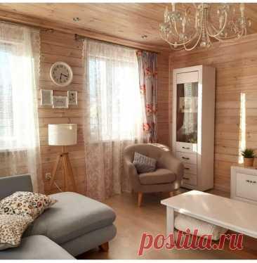 Загородный дом с особой атмосферой тепла и уюта.