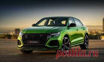 Audi RS Q8 с ценой в России