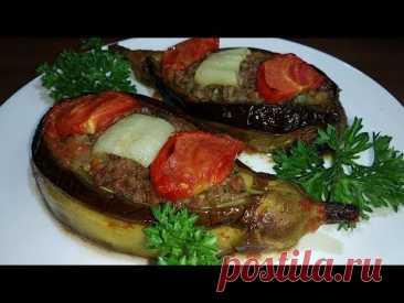 Таких вкусных баклажанов, вы точно не пробовали. Царские фаршированные баклажаны по турецки!