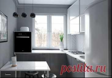 Втиснуть все: кухня 5 кв. м с холодильником, духовым шкафом и стиральной машиной | Вещь | Пульс Mail.ru Xрущевки и брежневки составляют серьезную долю в российской недвижимости