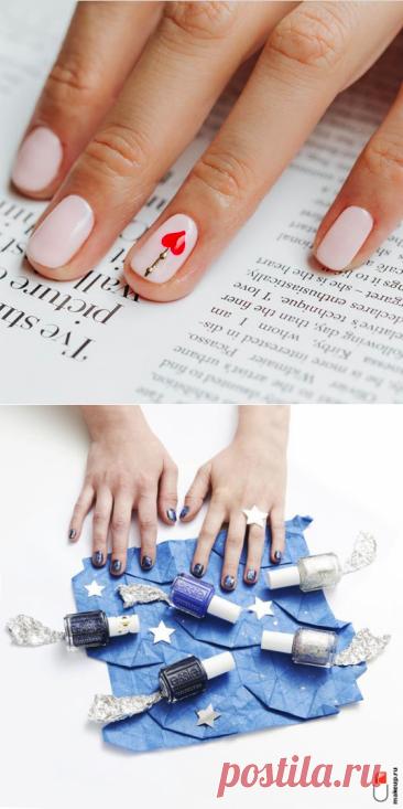 Маникюр на короткие ногти 2021 [100+ фото]: модный дизайн для очень коротких ногтей