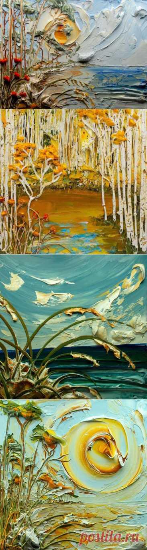 (+1) комм - Шедевры в жанре объемной живописи   Искусство