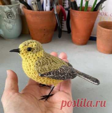 Идеи создания птичек крючком Идеи создания птичек крючкомПочему бы и нет, если они очень похожи на живых.Автор joseheroys.