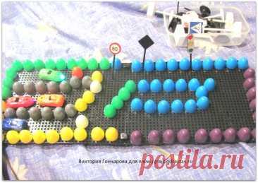 Игры с мозаикой для детей от 2 лет и старше.