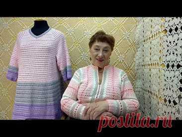 """Платье """"Р. Р. Р.""""  Мастер-класс по вязанию крючком от О. С. Литвиной."""