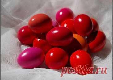 Яйца к пасхе - пошаговый рецепт с фото. Автор рецепта Анастасия 🏃♂️ . - Cookpad