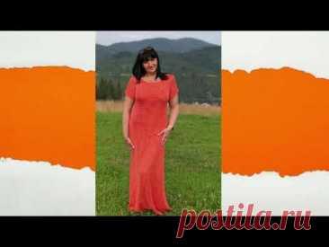 """Платье крючком """"Листья"""". Филейное вязание. Часть 4. Фотоальбом."""