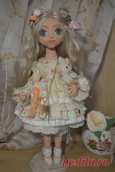 Мастер-класс: создание объемного лица кукле | Журнал Ярмарки Мастеров