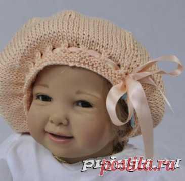 Детские шапочки, шарфики и береты спицами или крючком с описанием - Результаты из #120
