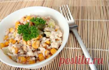5 вкусных диетических салатов с тунцом. Идеальный ужин. Худеем вкусно. Рецепт №7 | Варвара Прибалтийская | Яндекс Дзен