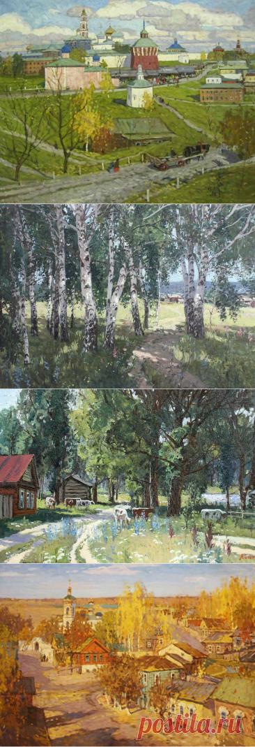 Пейзажи. Копняк Валерий Андреевич.