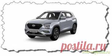 Сигнализация на Hyundai Creta с 2021 года кузов SU2