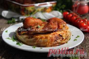 Шайбы из капусты с курицей в духовке - 9 пошаговых фото в рецепте