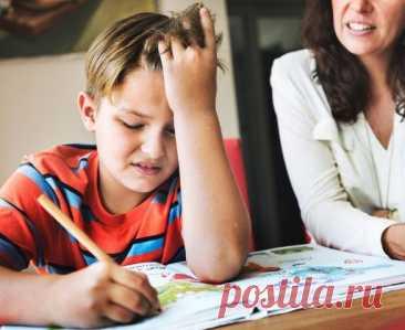 Названы основные ошибки родителей при попытке заставить детей учиться / Малютка